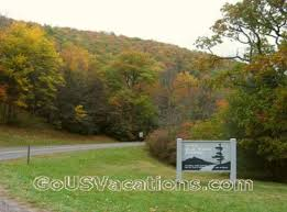 fall blue ridge parkway vacation colorful scenic road tour