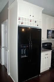 Kitchen Overhead Cabinets Above Refrigerator Cabinet Storage Ideas Best Home Furniture