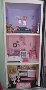 Journey Girls Bedroom Set American Doll House In The Closet Our American Dolls A