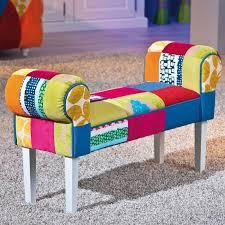 banc canape banc assise siège tabouret bout de canapé design patschwork