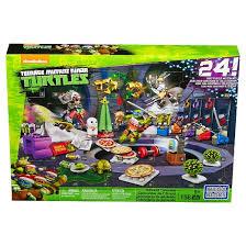 mega bloks teenage mutant ninja turtles advent calendar target