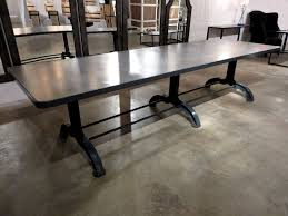 concrete top dining table uncategorized concrete top dining table wonderful inside amazing