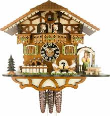 Chalet Style by Cuckoo Clock 1 Day Movement Chalet Style 30cm By Hönes 6764t Zenzi