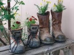 boot flower planter u2013 home image ideas