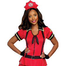 Walmart Halloween Costumes Teenage Girls Fire Fighter Women U0027s Halloween Costume Walmart