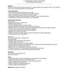 cna resumes exles cna resume sle best of certified nursing assistant cna