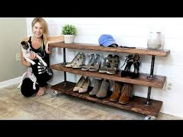 Industrial Shelving Unit by The Industrial Shelving Unit Diy Project Youtube