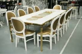 gold acrylic dining room chair and table xy0739 buy acrylic