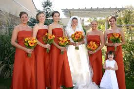 burnt orange wedding dress u0026 trend 2016 2017 u2013 fashion gossip
