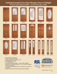 Patio Door With Sidelights Fiberglass Traditional Doors U0026 Sidelights Target Windows And Doors
