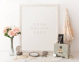 design templates photography free photo frame mockups vintage pearls w parasol camera jewelry product frame