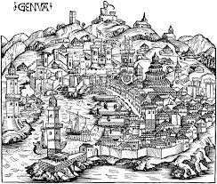 Genoa Italy Map by Historical Ancient Map Of Genoa Ancient Maps Pinterest Genoa