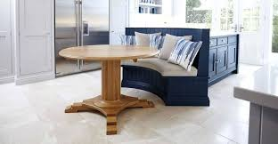 round table with bench settee bench round table long banquette