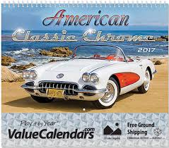 mustang auto shop 2017 chrome calendar 11 x 9 5 8 11 x 17 1 4