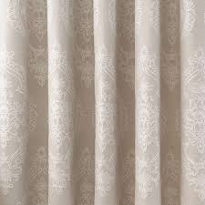 black curtain natural seraphina lined eyelet curtains dunelm livingroom blackout lining best
