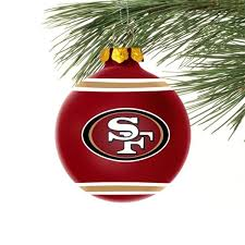 christmas gifts for 49ers fans san francisco 49ers christmas ornament san francisco 49ers fashion