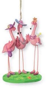 pink flamingo tree ornaments comfy