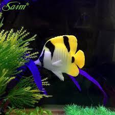3 6 aquarium simulated robot fish artificial rubber