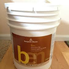 find more 5 gallons of benjamin moore ben flat paint new
