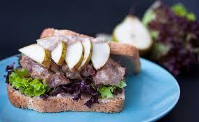 cuisine des terroirs recettes sandwich du terroir recette aux gésiers et à la poire