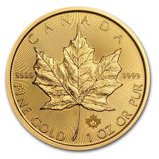 2017 canadian maple leaf gold coin 1oz goldsilver central your