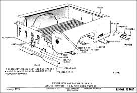 Ford F350 Truck Bed Replacement - ford u0027s u002761 u002766 u0027wrongbed u0027 history fordification info the u002761