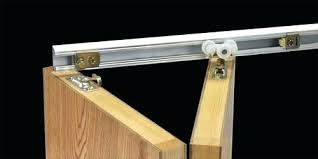 Bifold Closet Door Parts Bifold Door Track 4 Bifold Door Hardware Bottom Track Ladyroom Club