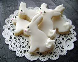 rabbit cookies baby easter bunny sugar cookies mini bites woodland