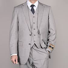 mens light gray 3 piece suit bertolini men s light gray wool silk 3 piece vested suit style