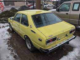 1982 Corolla Wagon Yellow Fever 1975 Toyota Corolla