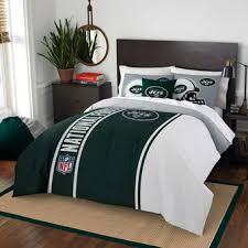 New York City Duvet Cover New York Jets Bed And Bath Jets Home U0026 Office Nflshop Com