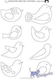 best 25 bird patterns ideas on pinterest bird outline felt