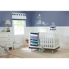 Navy Blue And White Crib Bedding by Bedroom Baby Crib Set Navy And Coral Bedding Nautical Crib