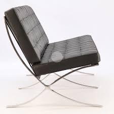 replica barcelona chair platinum edition 2 seater black