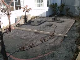 Patio Foundation Installing A Paver Patio U2013 Part 1 Steve Snedeker U0027s Landscaping