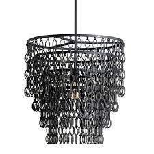 Black Metal Chandeliers 12 Inspirations Of Metal Chandeliers