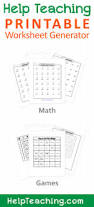 free printable math worksheet addition subtraction