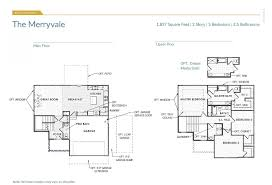 1 And 1 2 Story Floor Plans The Merryvale Kansas City Home Builders