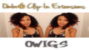 owigs clip ins how to install style blend curly ombre clip ins owigs