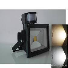 Outdoor V Lighting - 10w 20w 30w 50w pir motion sensor flood light security ac dc 12 v