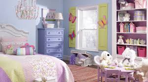 girls room in pastel pink purple and green interiors by color