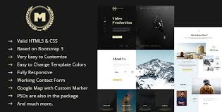minicon minimal html template by iconic graphics themeforest