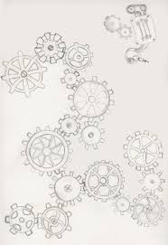 mechanic tattoo drawing gear tattoo 2 by kestrajean on deviantart