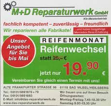 Reifen Bad Vilbel M D Reparaturwerk Gmbh Home Facebook