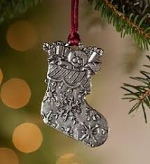 waiting for santa pewter christmas ornament made in usa 19 99