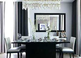 Chandelier Above Dining Table Dining Table Chandelier Height Image For Orb Chandelier