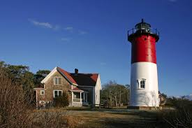 nauset lighthouse located in eastham massachusetts on the east