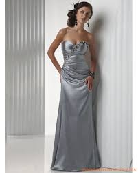robe grise pour mariage robe de soirée longue grise avec cristal satin stretch