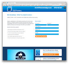Getting A Business Email Address by 07 Heaven Design Blog Landing Pages
