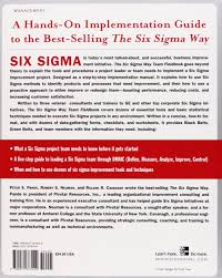 buy the six sigma way team fieldbook an implementation guide for